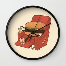 Lunch Break. Wall Clock