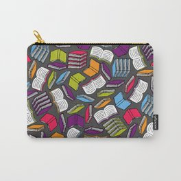 So Many Colorful Books... Carry-All Pouch