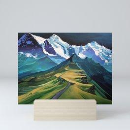 The Hike Mini Art Print