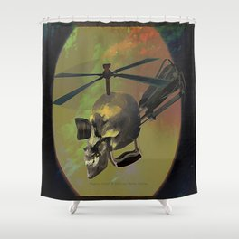 Magnus-Copter -007 Shower Curtain