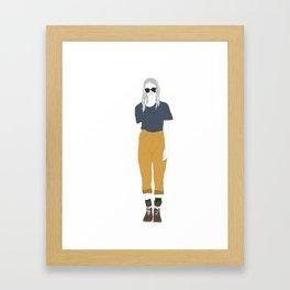 Sup Framed Art Print