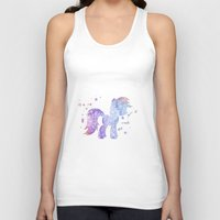 my little pony Tank Tops featuring My Little Pony by Carma Zoe