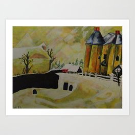 PtLY 1 Ode to Chagall Art Print