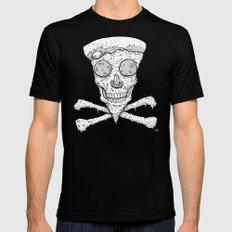 Skull Slice III MEDIUM Mens Fitted Tee Black