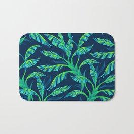 Paradise Leaves - Green Bath Mat
