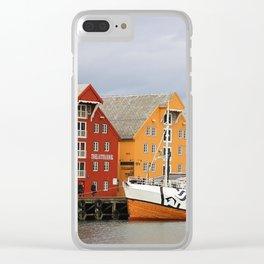 noruega Clear iPhone Case
