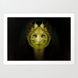 Gaia Nouveau Art Print