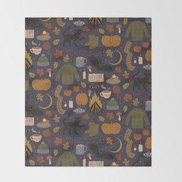 Autumn Nights Throw Blanket