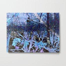 Lilac Lost Metal Print