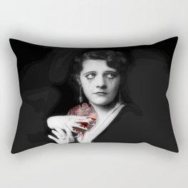 Suffering Heart Rectangular Pillow