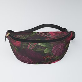 Vintage & Shabby Chic - Vintage & Shabby Chic - Mystical Night Roses Fanny Pack
