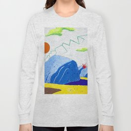 Dry Lightning in the Rocky Valley Long Sleeve T-shirt