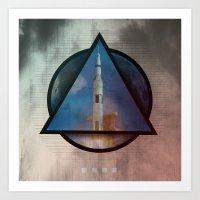 apollo Art Prints featuring Apollo by Paul Conrad