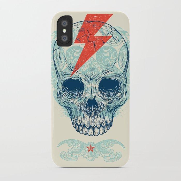 Skull Bolt iPhone Case