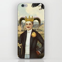 THE EMPEROR TAROT CARD iPhone Skin