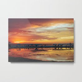 Sunset in Coche Island _ Venezuela Metal Print