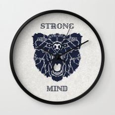 Strong Mind Wall Clock