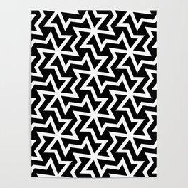 Arabic pattern Poster