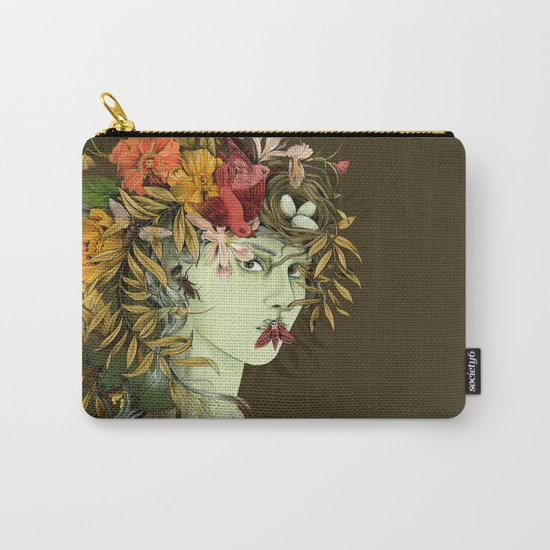 Persephone, goddess of Spring Carry-All Pouch