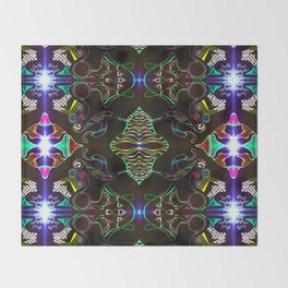 Dark City Throw Blanket