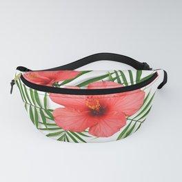 Tropical floral composition Fanny Pack