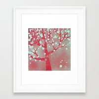 blossom Framed Art Prints featuring Blossom by Nic Squirrell