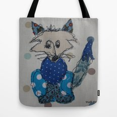 Mr Foxy Tote Bag