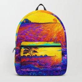Tardis Art Starry Tree Backpack
