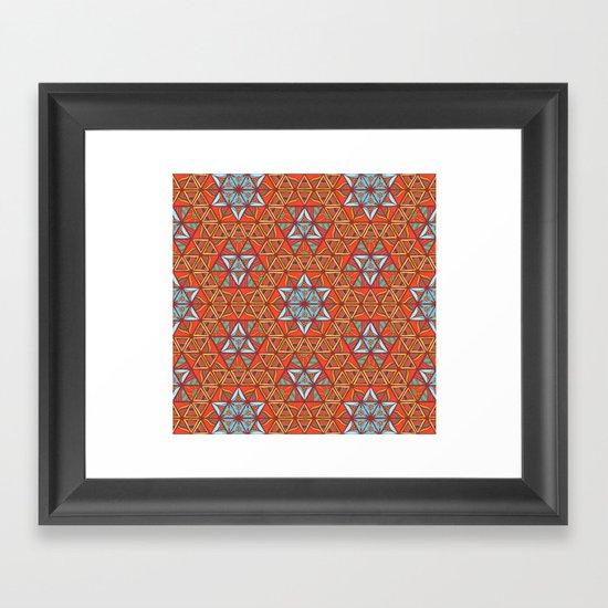 The Standing. Framed Art Print
