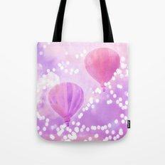 Carnival Hot Air Balloons Tote Bag