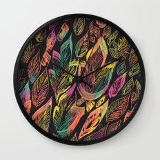 Fall Canopy Wall Clock