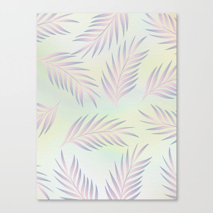 Palm Leaves 2 Canvas Print