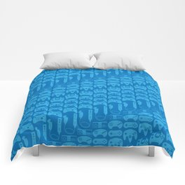 Video Game Controllers - Blue Comforters