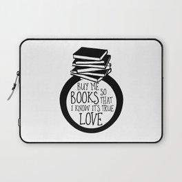 Bookish Engagment Laptop Sleeve