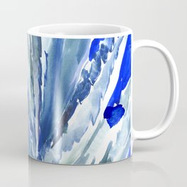 Blue Agave, Succulents, Blue Turquoise green plants design desert plants Coffee Mug