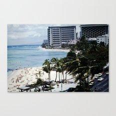 Mom & Dad's Hawaii Trip Slide No.1 Canvas Print