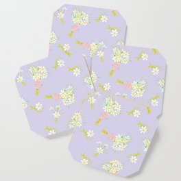 Daisies for you! Coaster