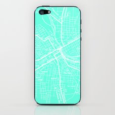 Vintage Nashville Turquois iPhone & iPod Skin
