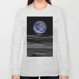 Earth from the moon Long Sleeve T-shirt