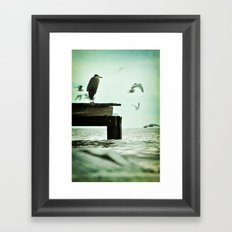 Leaning Into Afternoons Framed Art Print