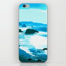 oregon beach iPhone Skin