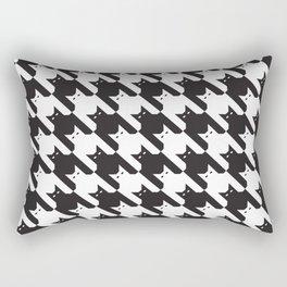 Catstooth Pattern Rectangular Pillow