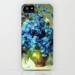 Cornflowers by Isaac Levitan 1894 iPhone Case