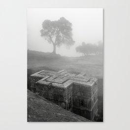 Bet Gyorgis Rock Church.  Lalibela, Ethiopia. Canvas Print