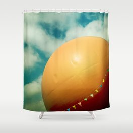 Orange Julep Shower Curtain