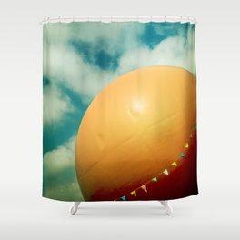 Orange Julep Shower Curtain