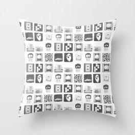 Vignettes - Yume Nikki Throw Pillow