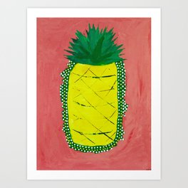 Pineapple of Liberty Art Print