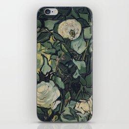 Roses by Vincent van Gogh iPhone Skin