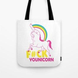 unicorn f#ck Tote Bag
